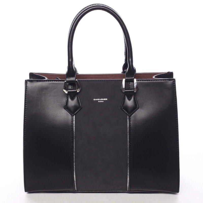 Jedinečná dámská kabelka Brunela, černá