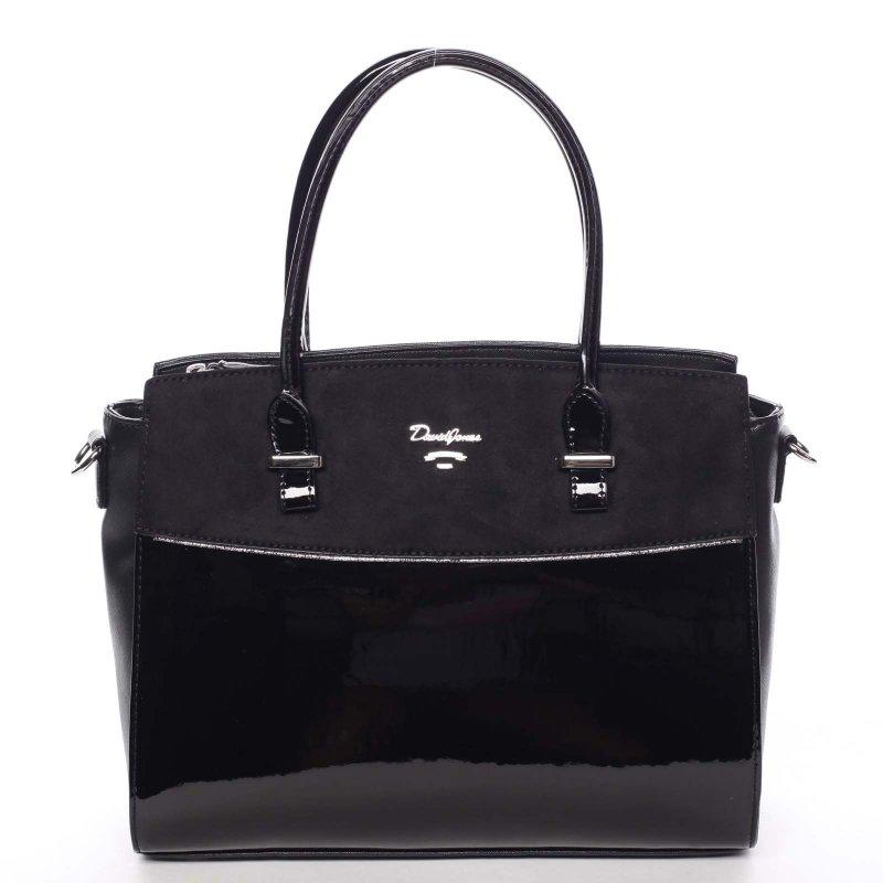 Trendová dámská kabelka do ruky Candela, černá