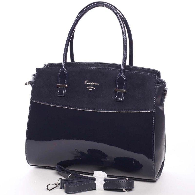 Trendová dámská kabelka do ruky Candela, modrá
