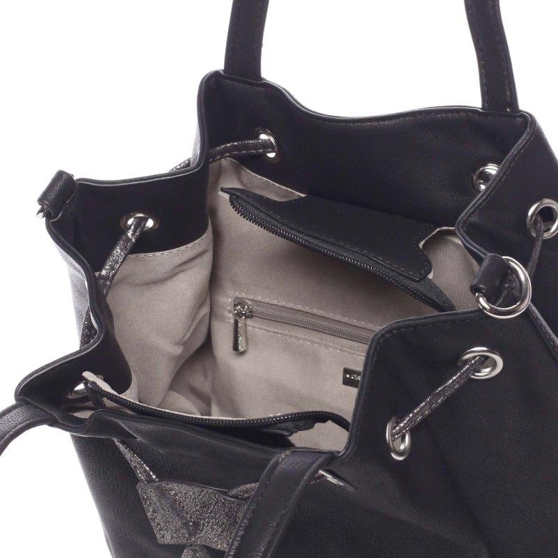 Nadčasová dámská kabelka Tamara, černá