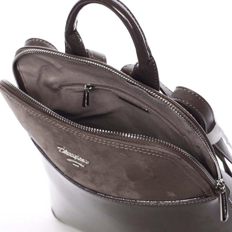 Malý dámský batůžek Cristal, hnědý
