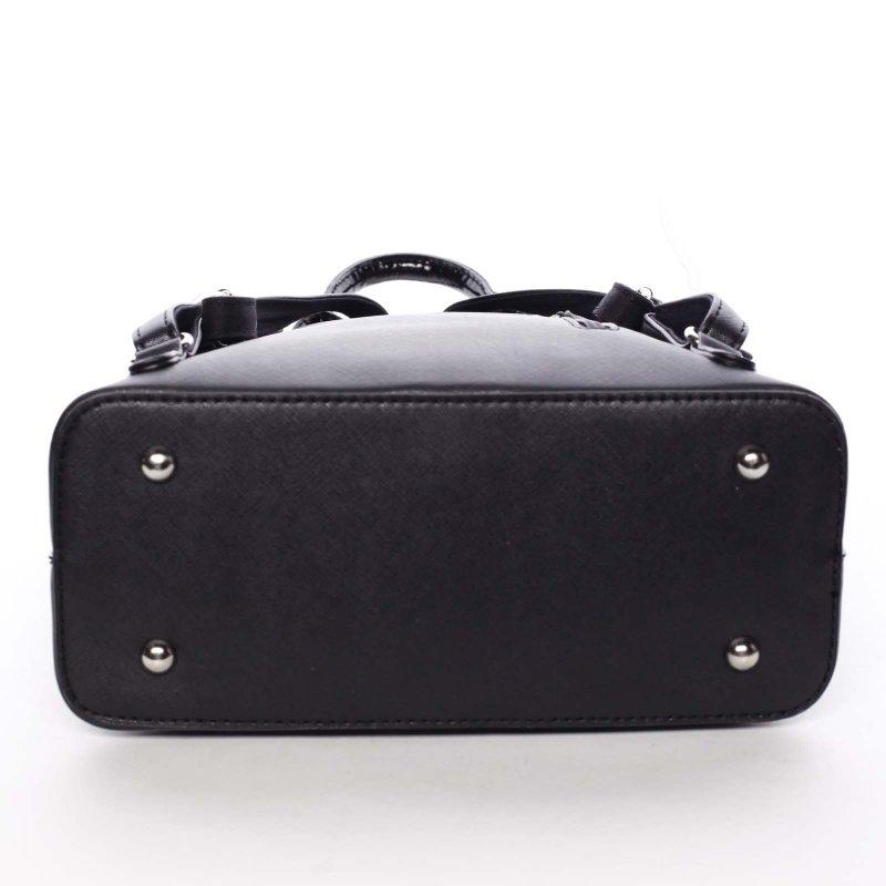 Malý dámský batůžek Cristal, černý