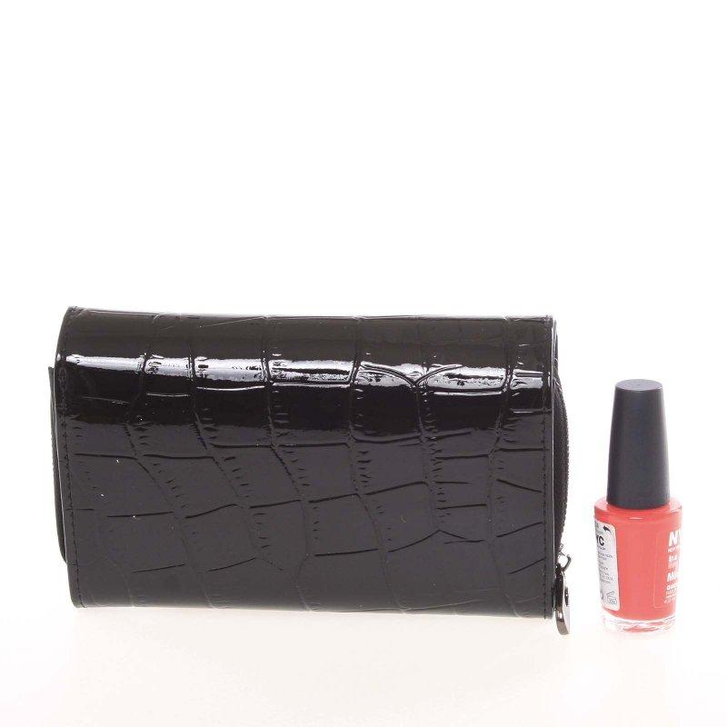 Lesklá dámská peněženka Irines 2, černá