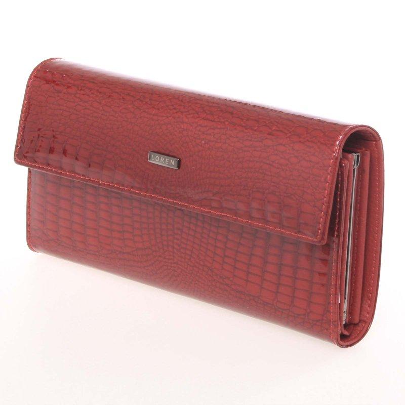 Atraktivní dámská peněženka Teofila, červená