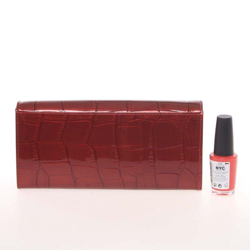 Matná dámská peněženka Alexie, luxury červená