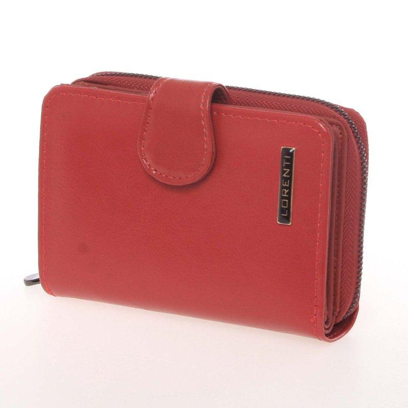 Kožená dámská peněženka Mairo, červená