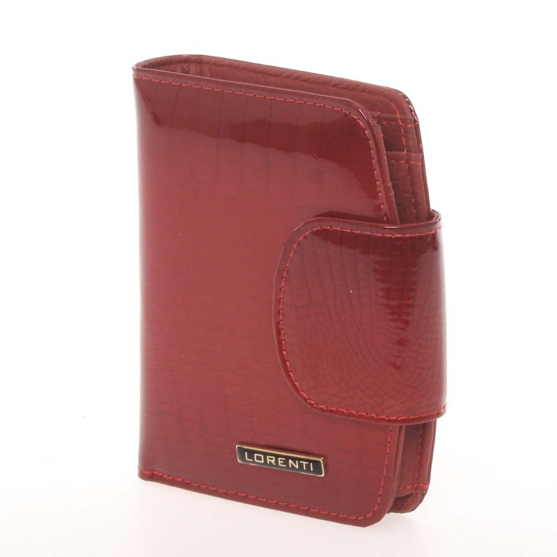 Dámská kožená peněženka 6IX9INE, croco červená