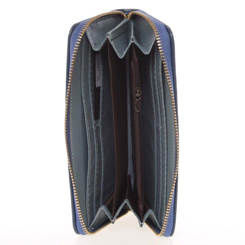 Dámská peněženka s motýlkem Milano Design, modrá