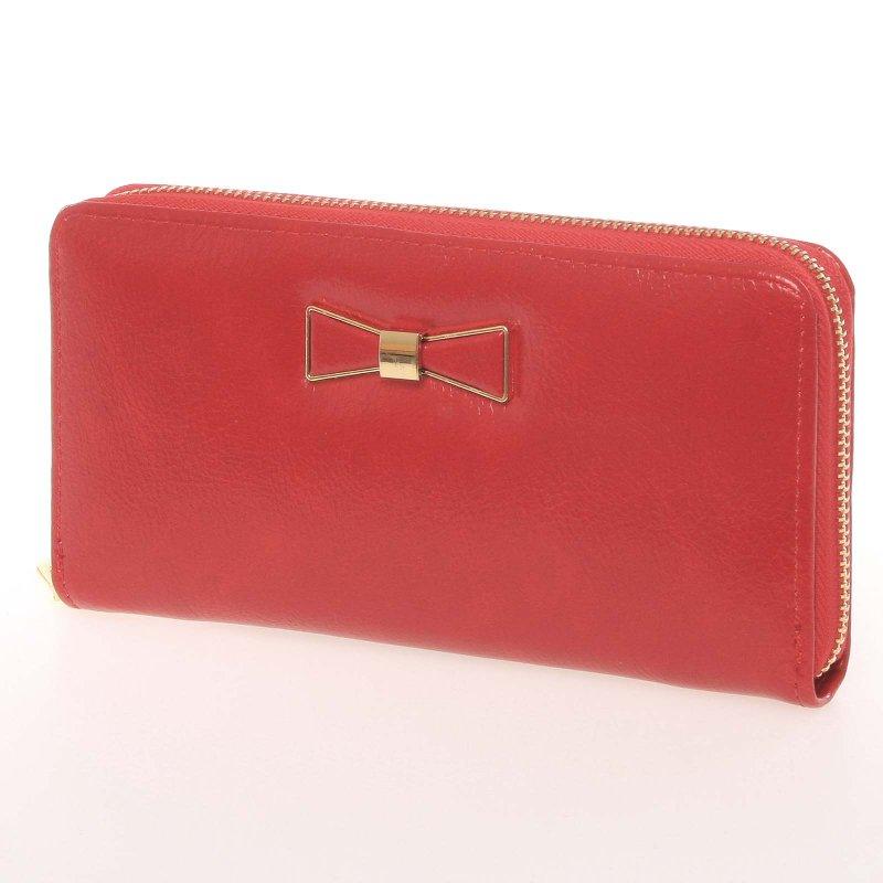 Dámská peněženka s motýlkem Milano Design, červená