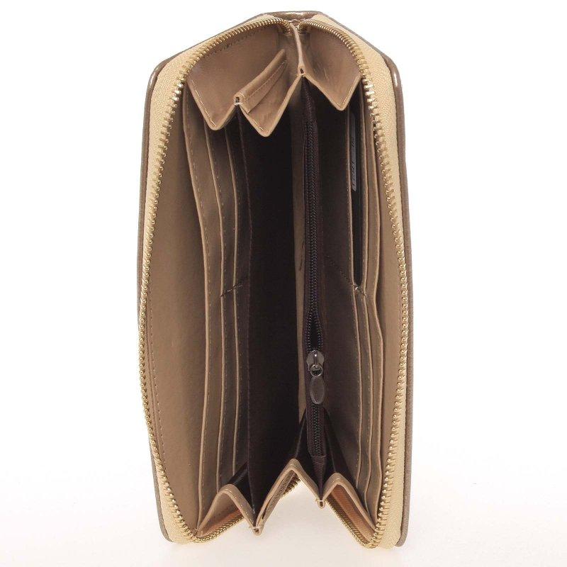 Dámská peněženka s motýlkem Milano Design, zlatá