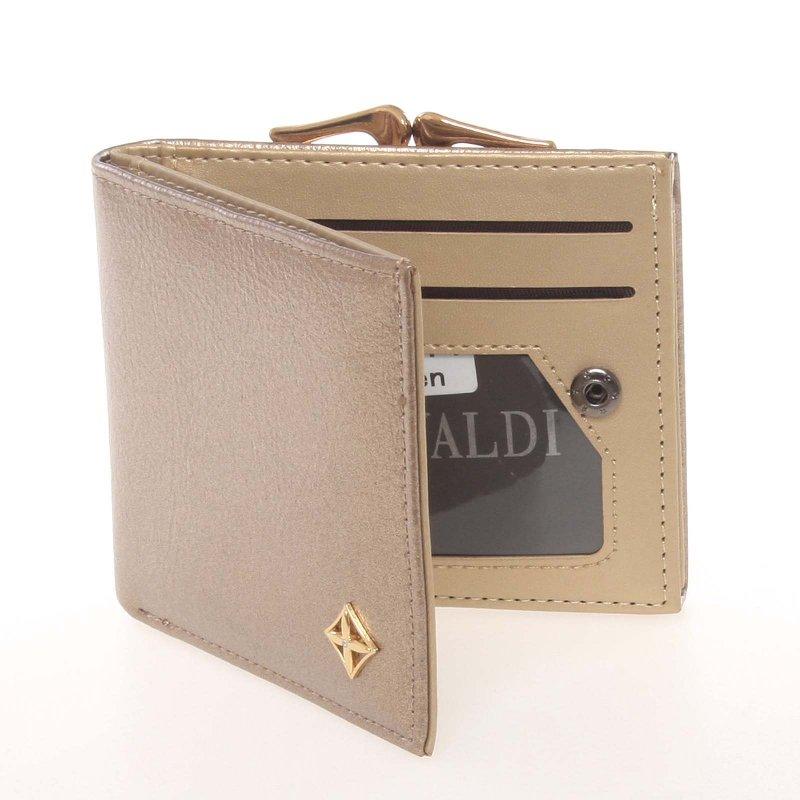 Moderní dámská peněženka Tana, zlatá