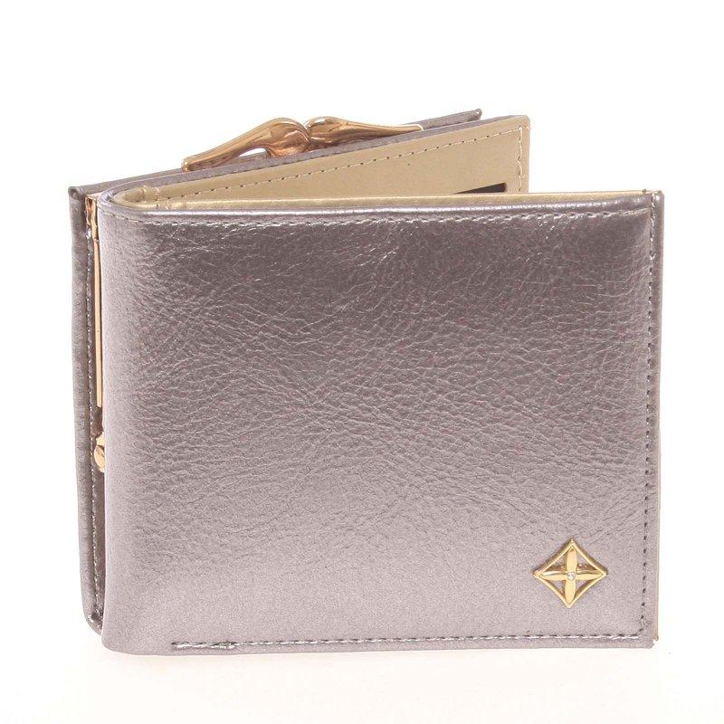 Moderní dámská peněženka Tana, stříbrná