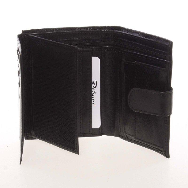 Originální kožená pánská peněženka Ernesto, černá