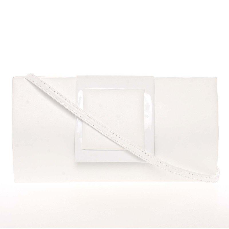 Luxusní kabelka a psaníčko Alex, bílé new