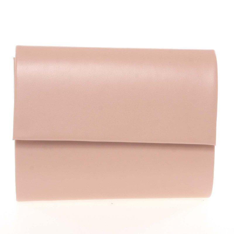 Elegantní dámské psaníčko Elen, růžové