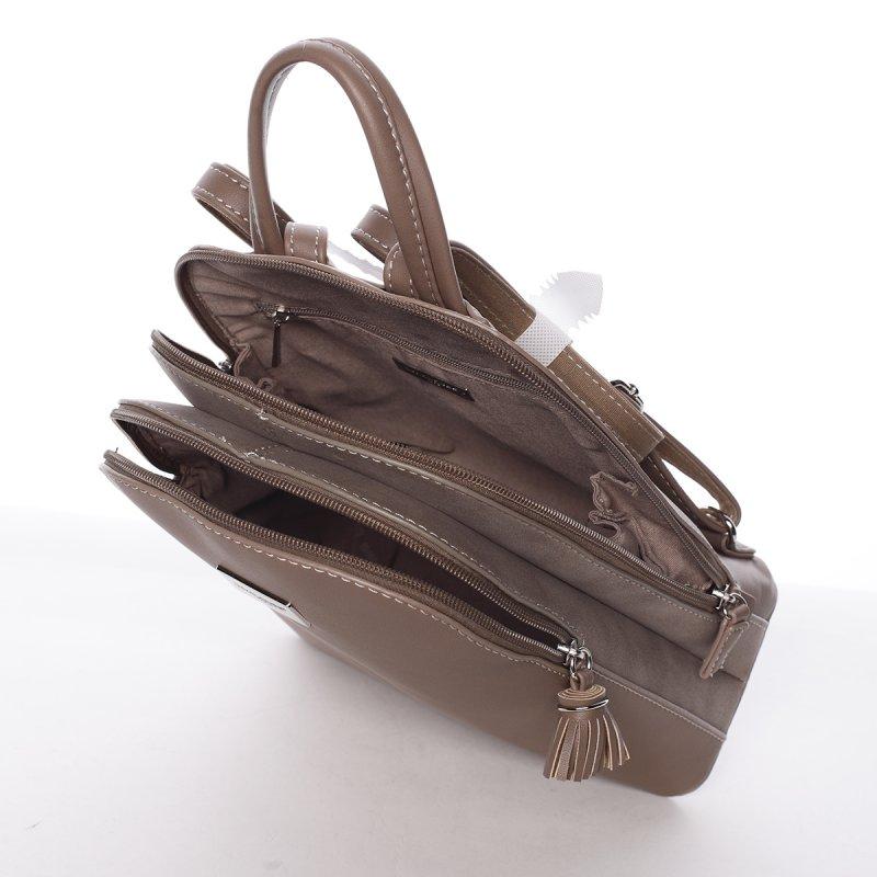 Menší praktický batůžek Tea, béžová