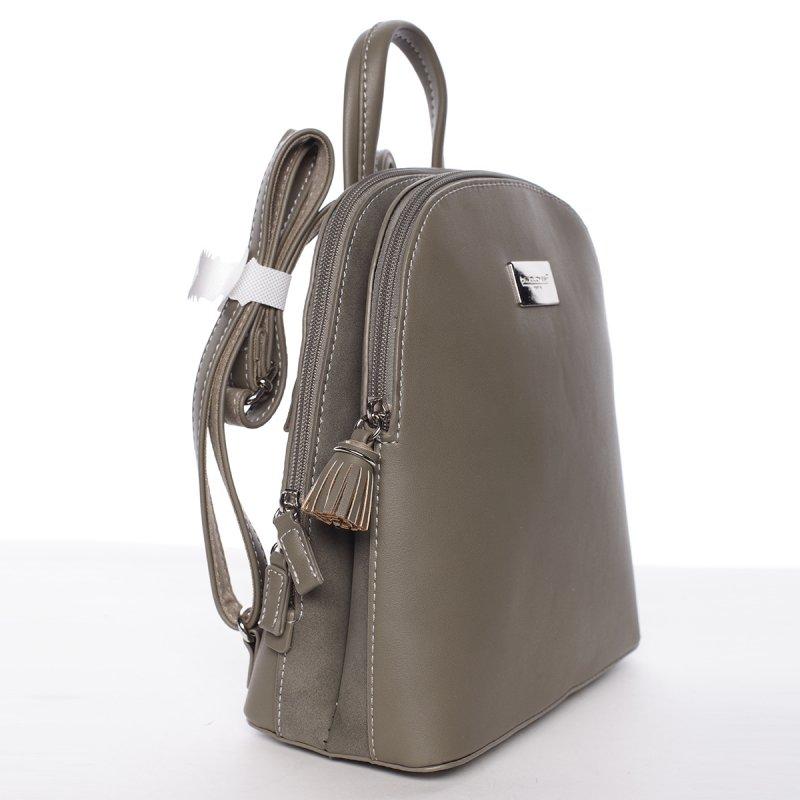 Menší praktický batůžek Tea, khaki