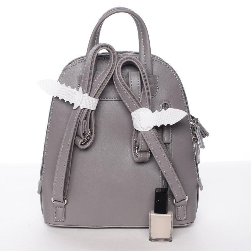 Menší praktický batůžek Tea, šedý