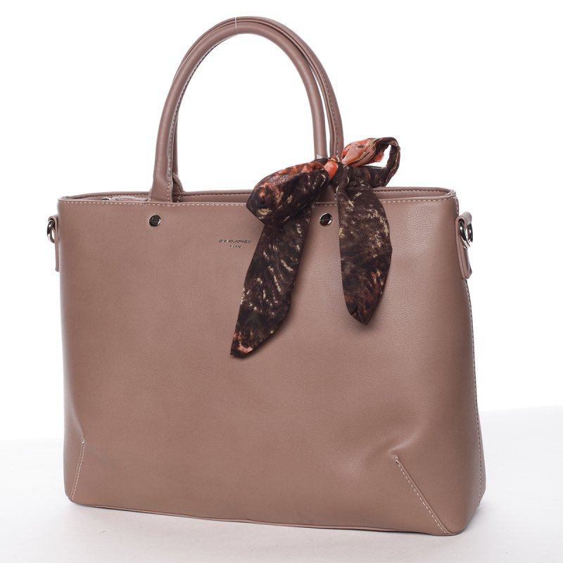 Luxusní zdobená kabelka Jordana, růžová
