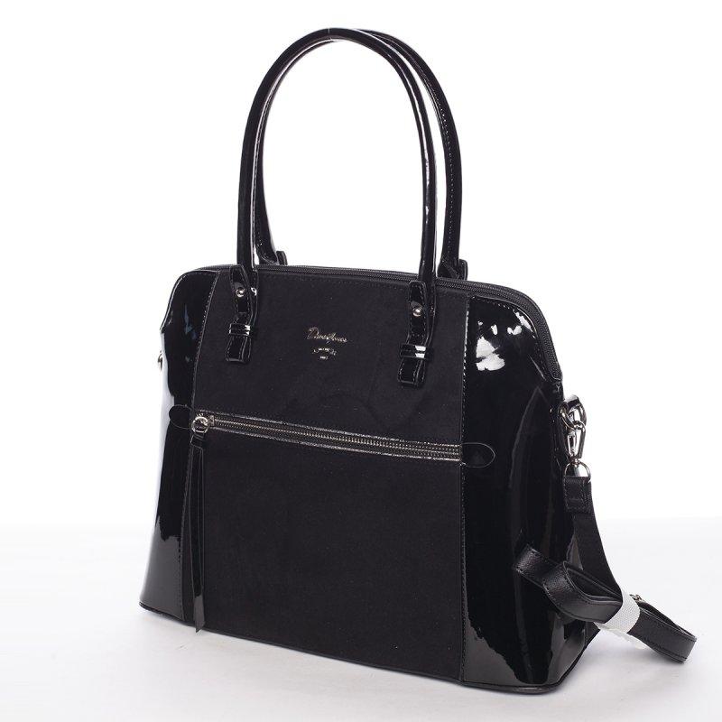 Luxusní kombinovaná kabelka July, černá