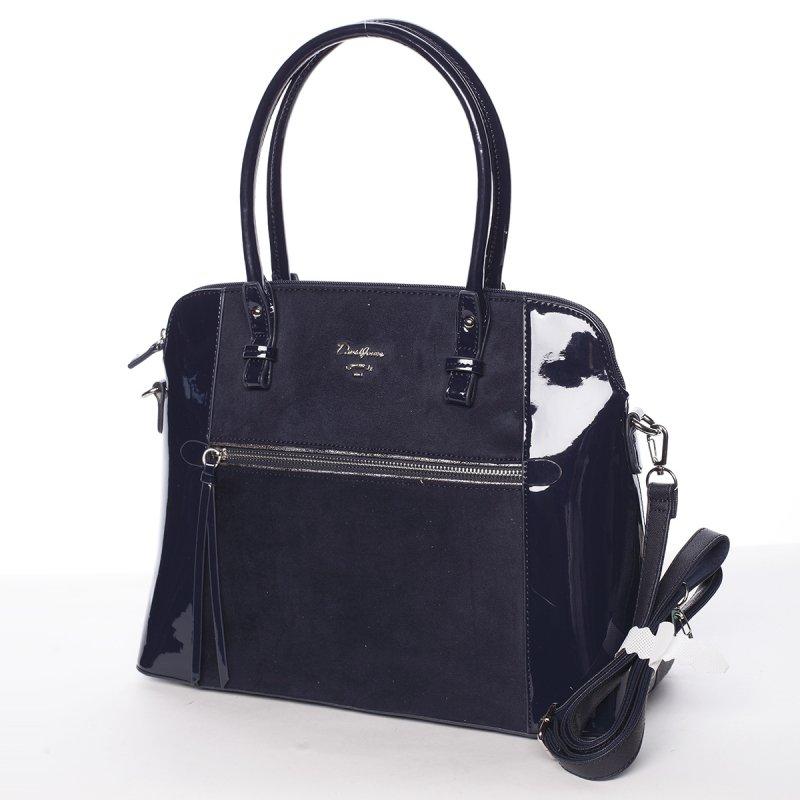 Luxusní kombinovaná kabelka July, modrá