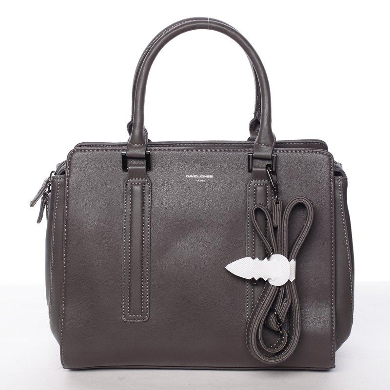 Dámská nadčasová kabelka Ilsa, tmavě šedá