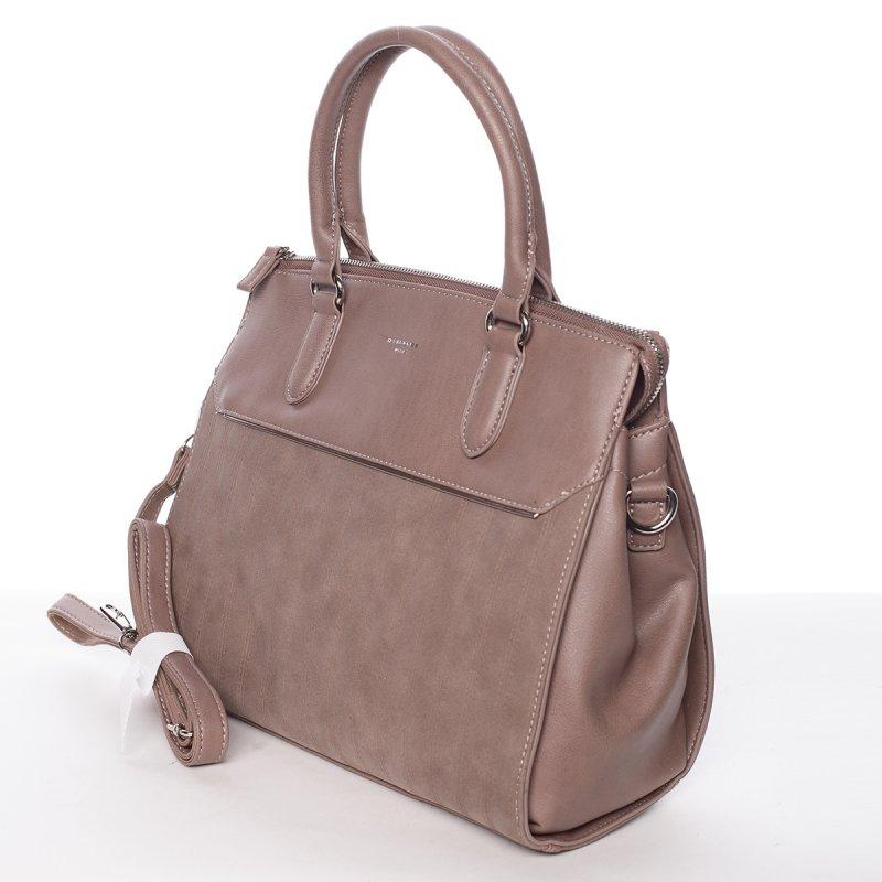 Elegantní dámská kabelka Amelie, růžová