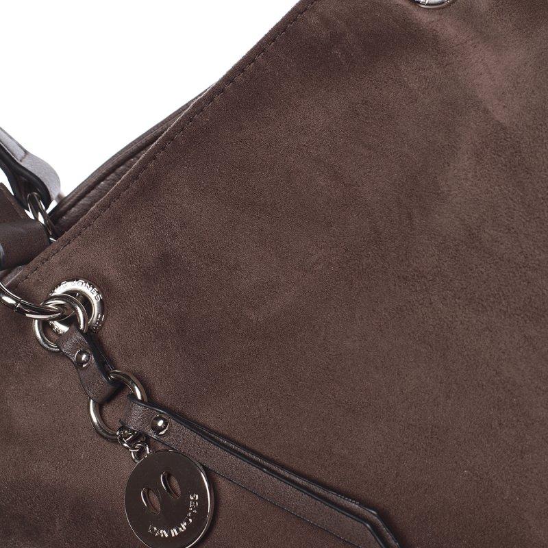 Moderní dámská kabelka Doris, tmavě hnědá