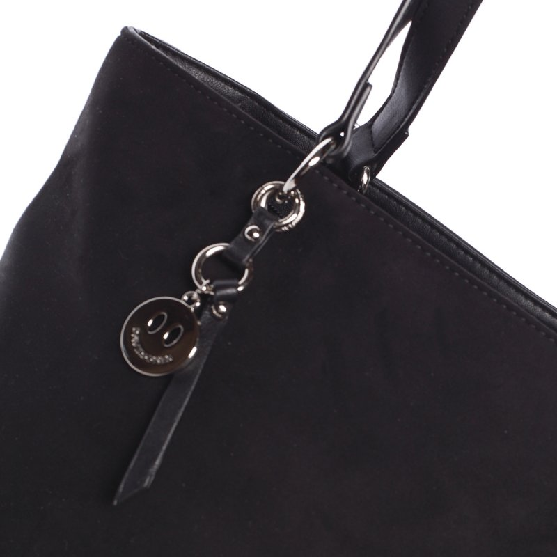 Moderní dámská kabelka Doris, černá