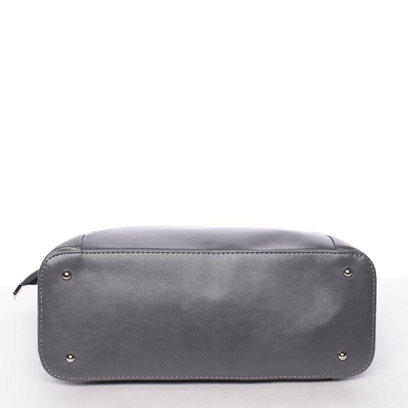 Luxusní lehká dámská kabelka Ruth, šedá