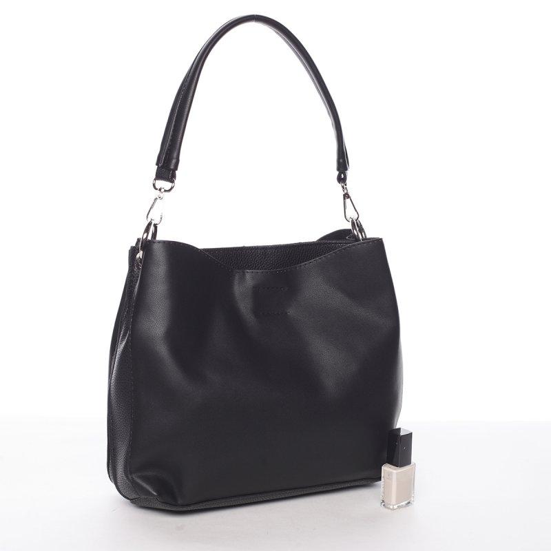 Elegantní dámská odlehčená kabelka Rea, černá