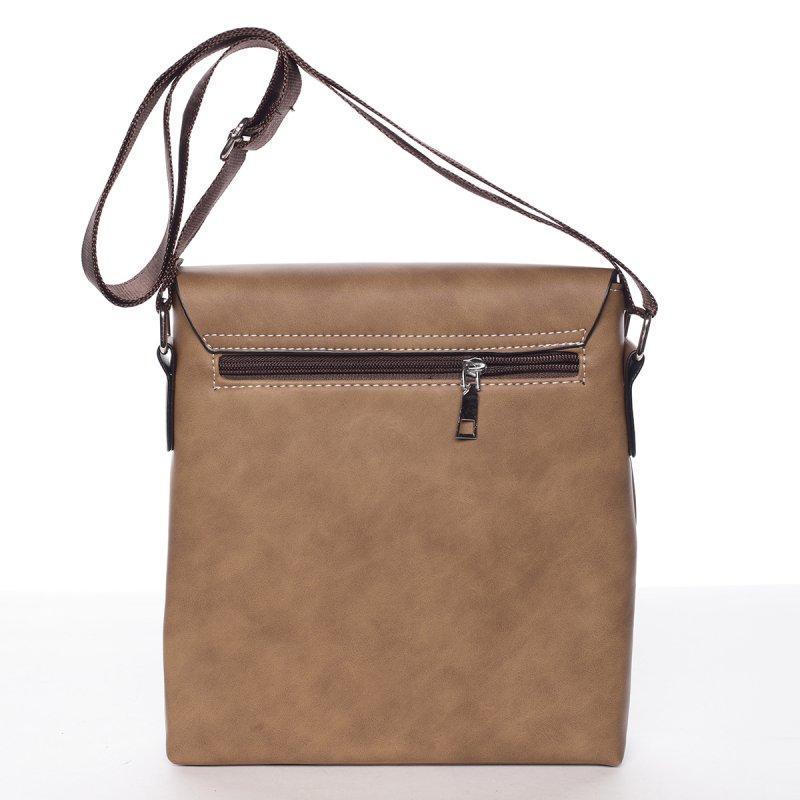 Modní pánská taška přes rameno Lucien, khaki