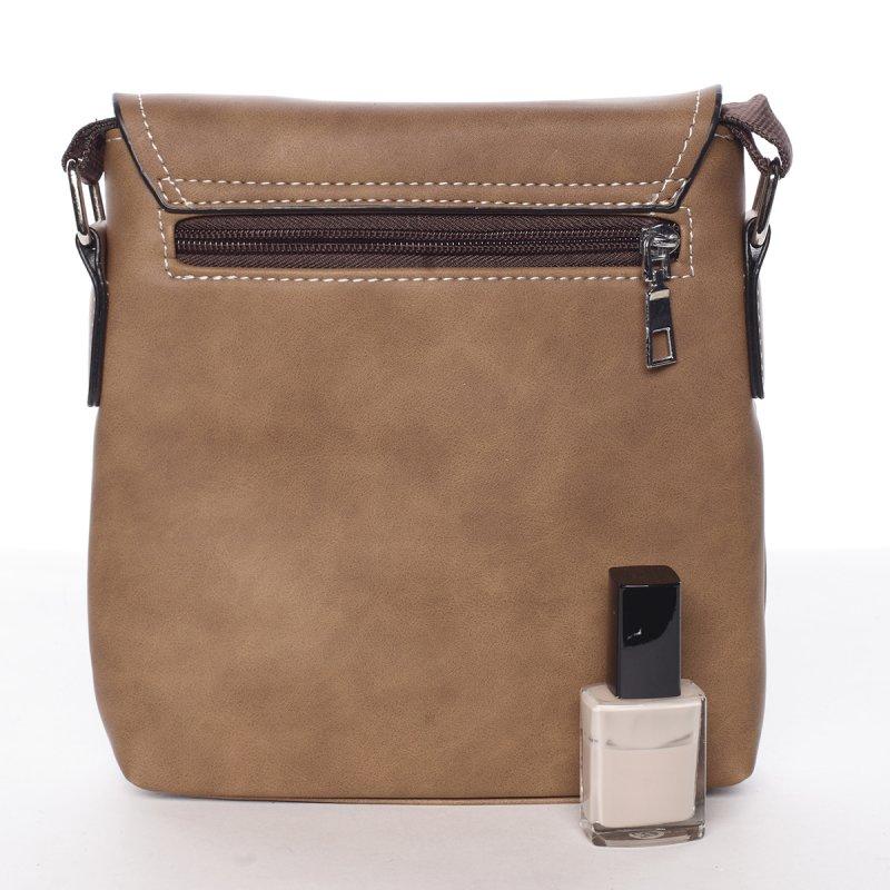 Moderní pánská taška David, hnědá