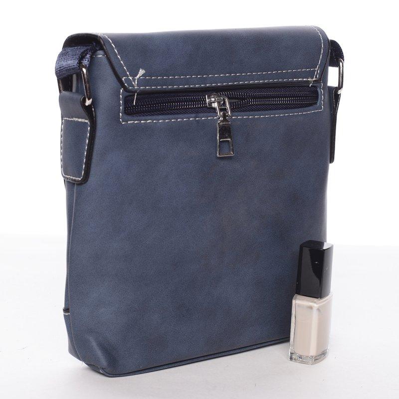 Moderní pánská taška David, modrá