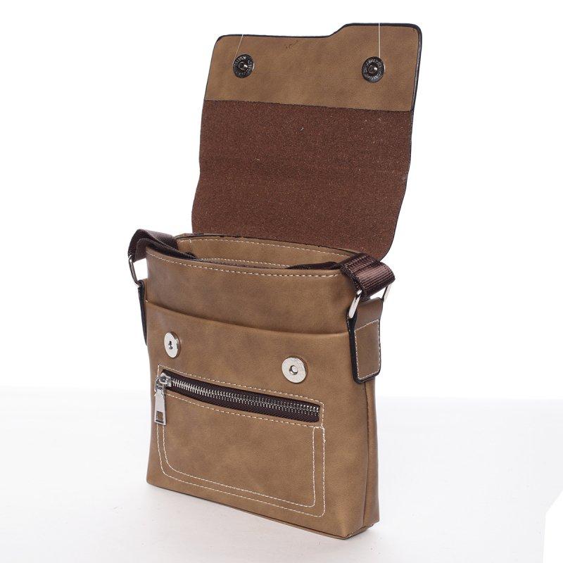 Pánská praktická taška Alan, hnědá