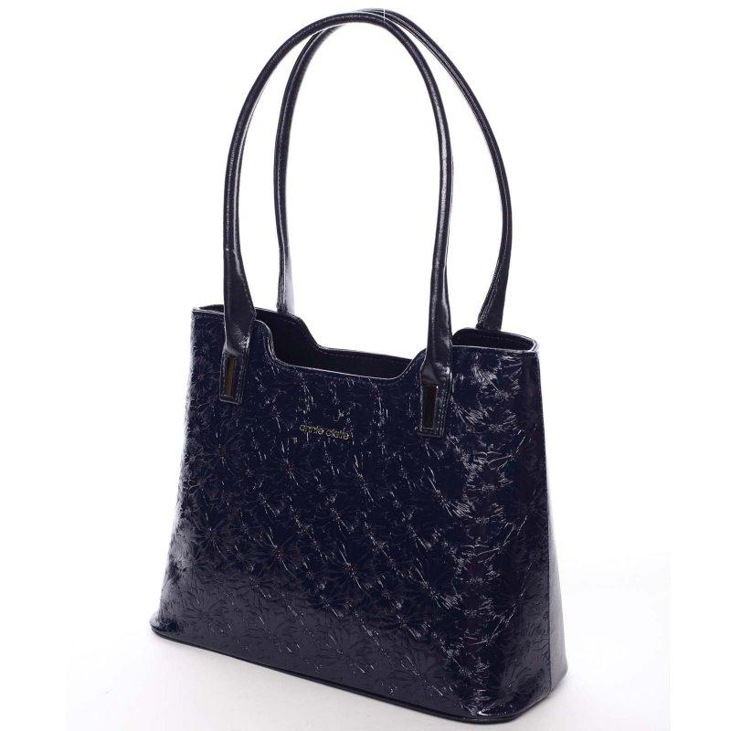 Zajímavá dámská kabelka Karen, modrá