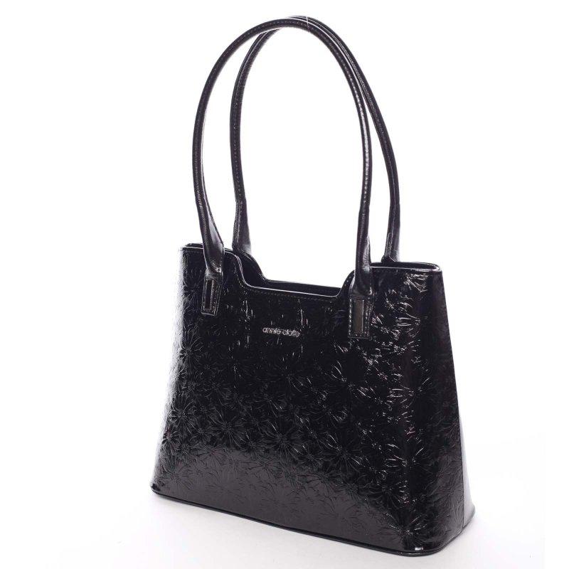 Zajímavá dámská kabelka Karen, černá