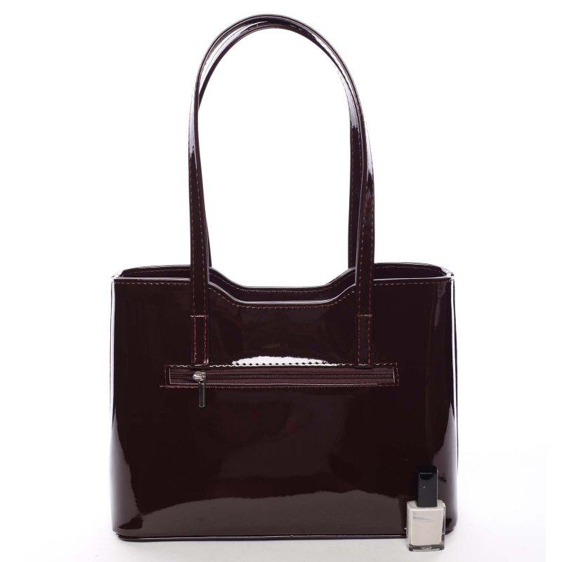 Krásná dámská kabelka Elen, vínová