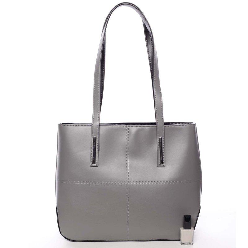 Dámská kabelka přes rameno Rebecca, tmavě šedá
