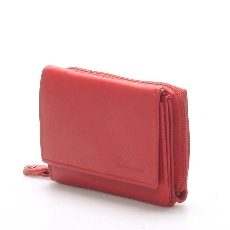 Kožená peněženka Delami Roxy, červená