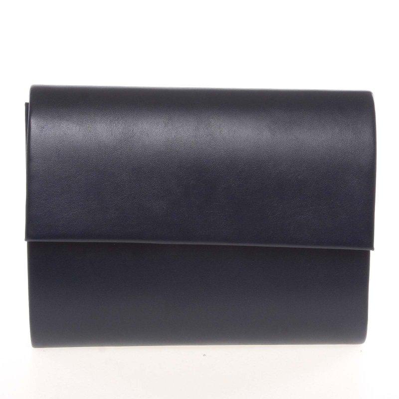 Elegantní psaníčko Segunda, modro-černé