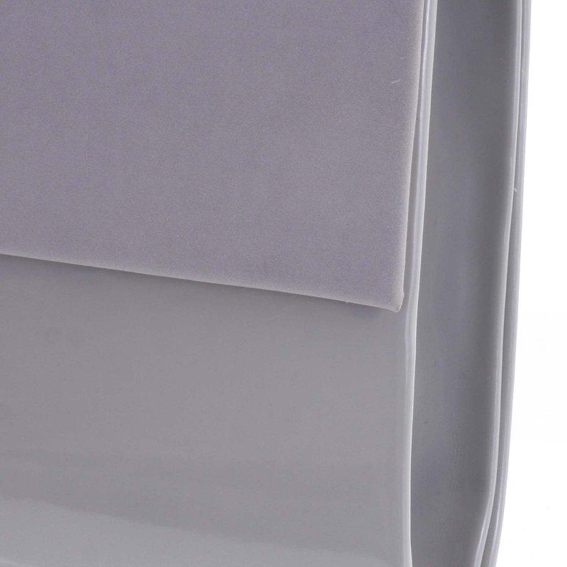 Elegantní dámské psaníčko CORINNE, šedé