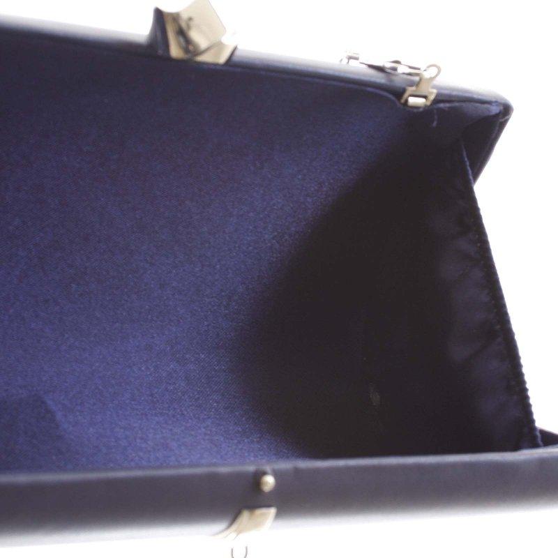 Luxusní malé dámské psaníčko Claudie, tmavě modré