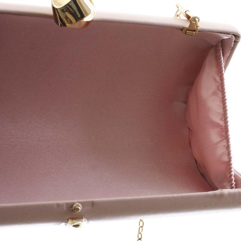 Luxusní malé dámské psaníčko Claudie, tmavě růžové