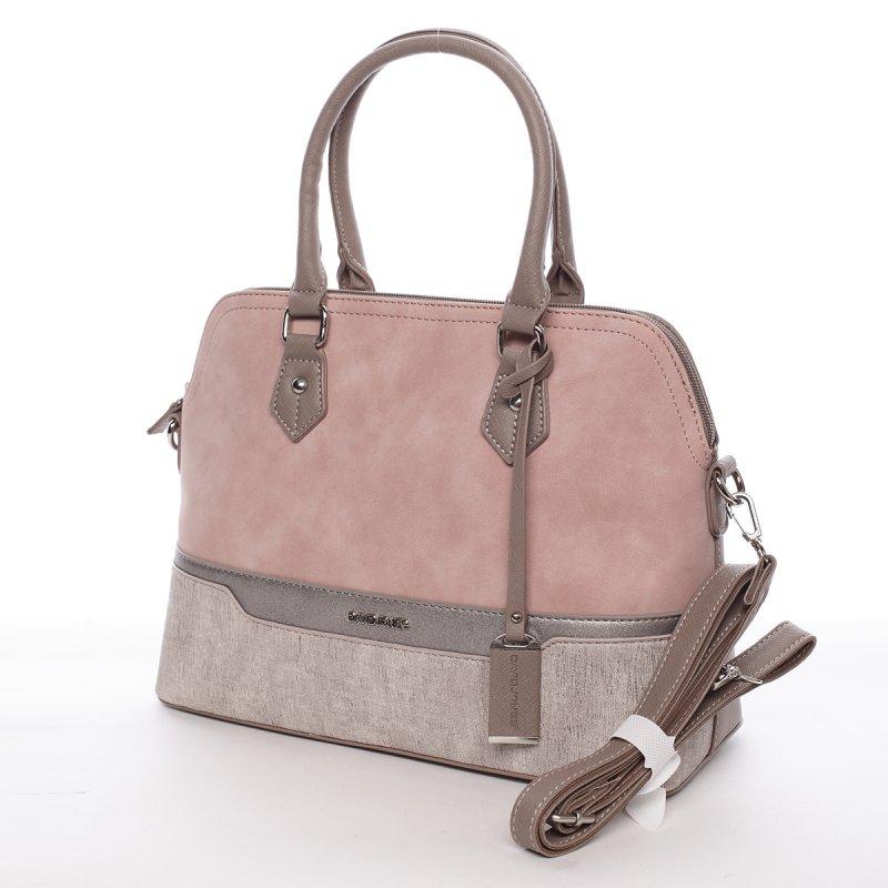 Dámská kabelka Alexandra růžová