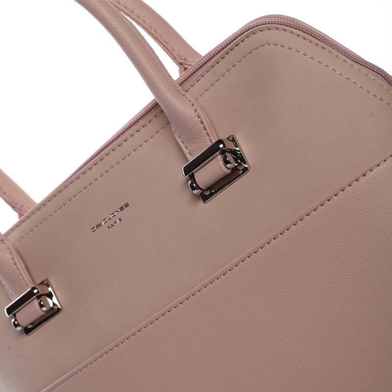 Dámská luxusní kabelka Gabriela růžová
