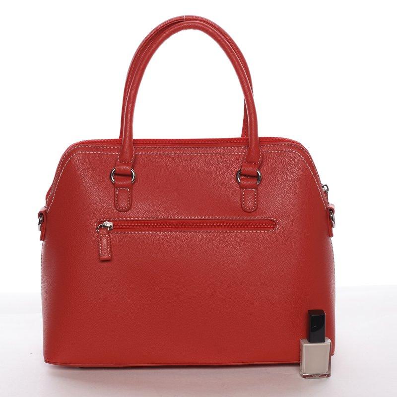 Dámská luxusní kabelka Gabriela červená