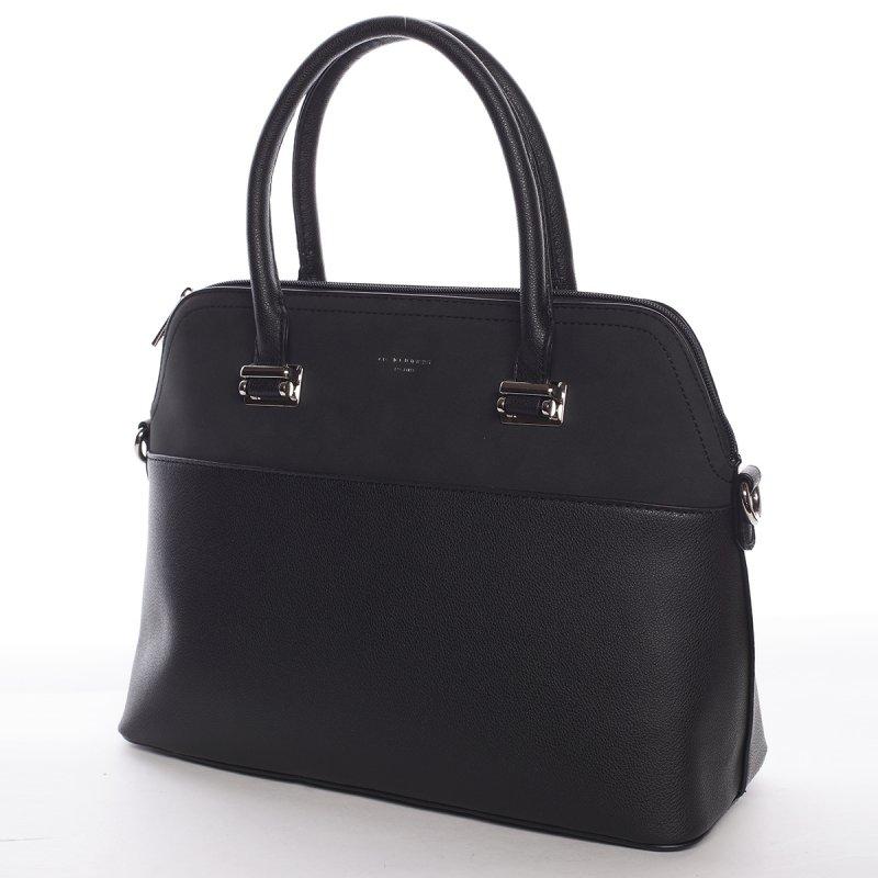Dámská luxusní kabelka Gabriela černá