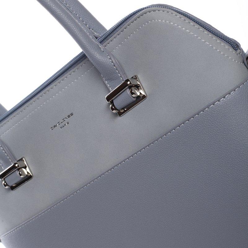Dámská luxusní kabelka Gabriela modrá