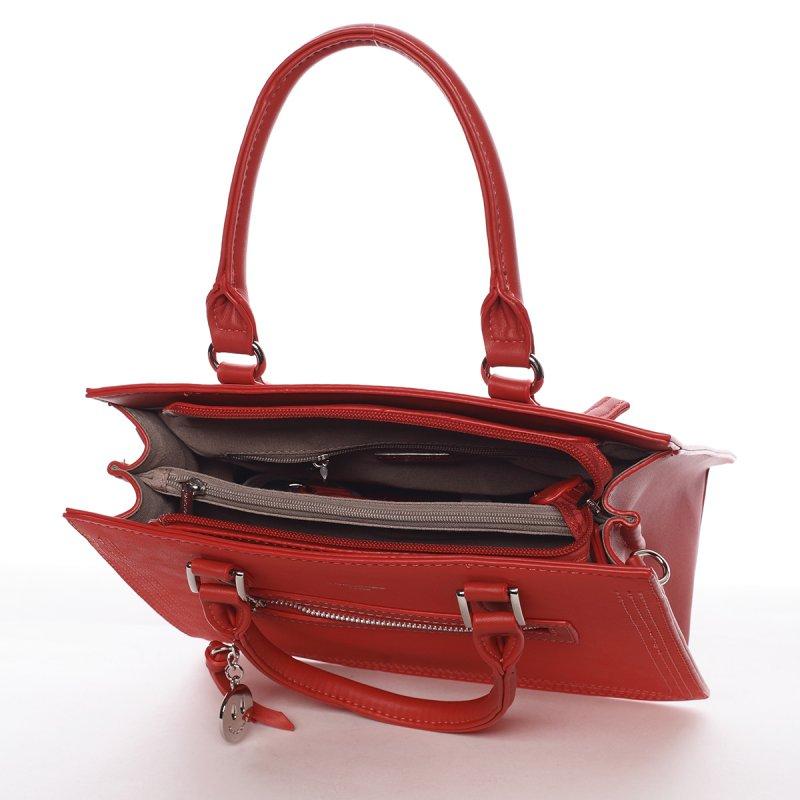 Dámská kabelka Rebeka červená
